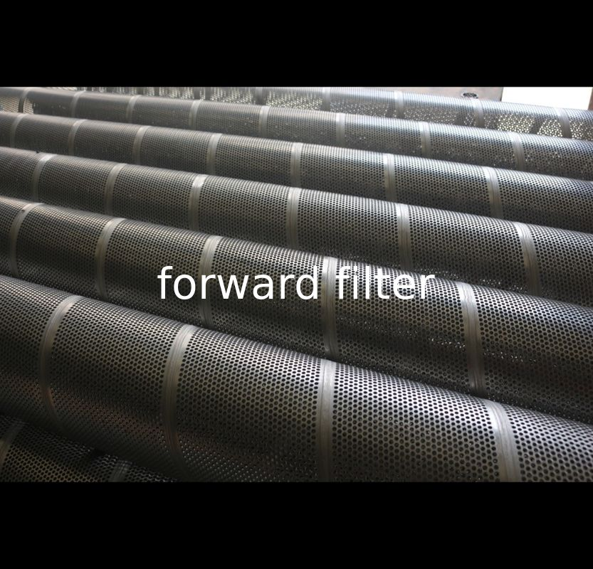 Pickled Perforated Stainless Tube , Custom Length Perforated Aluminium Tube