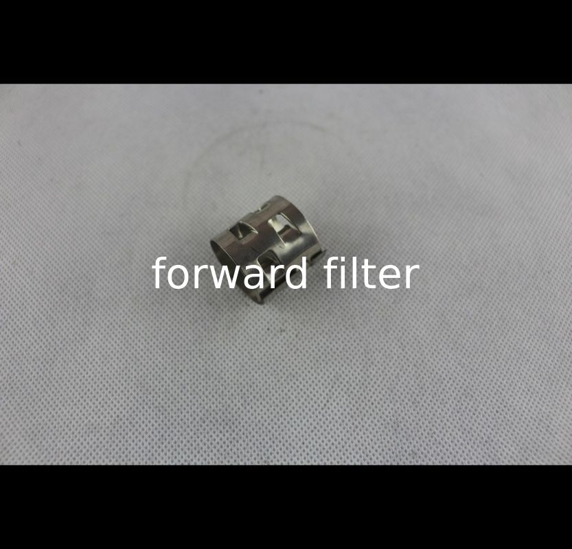 Custom Length Stainless Steel Filter Tube Filtration Parts Easy Installation 201 316