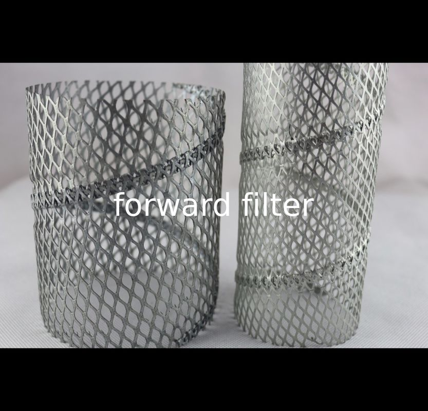 304 Perforated Stainless Steel Exhaust Tubing Custom Polished For Food Mining