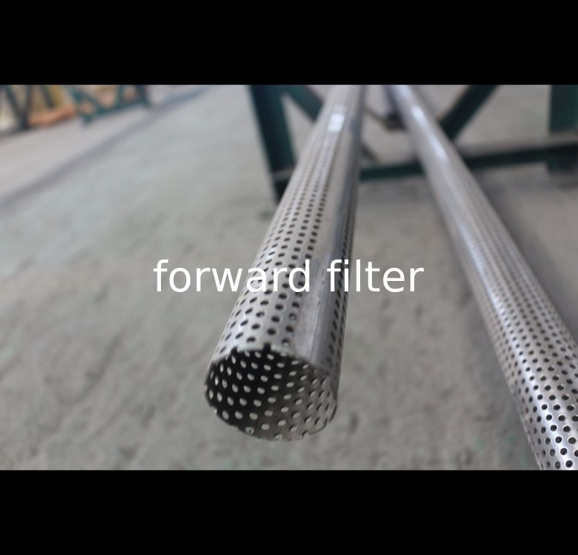Metric Perforated Muffler Tubing Stainless Steel Perforated Round Square