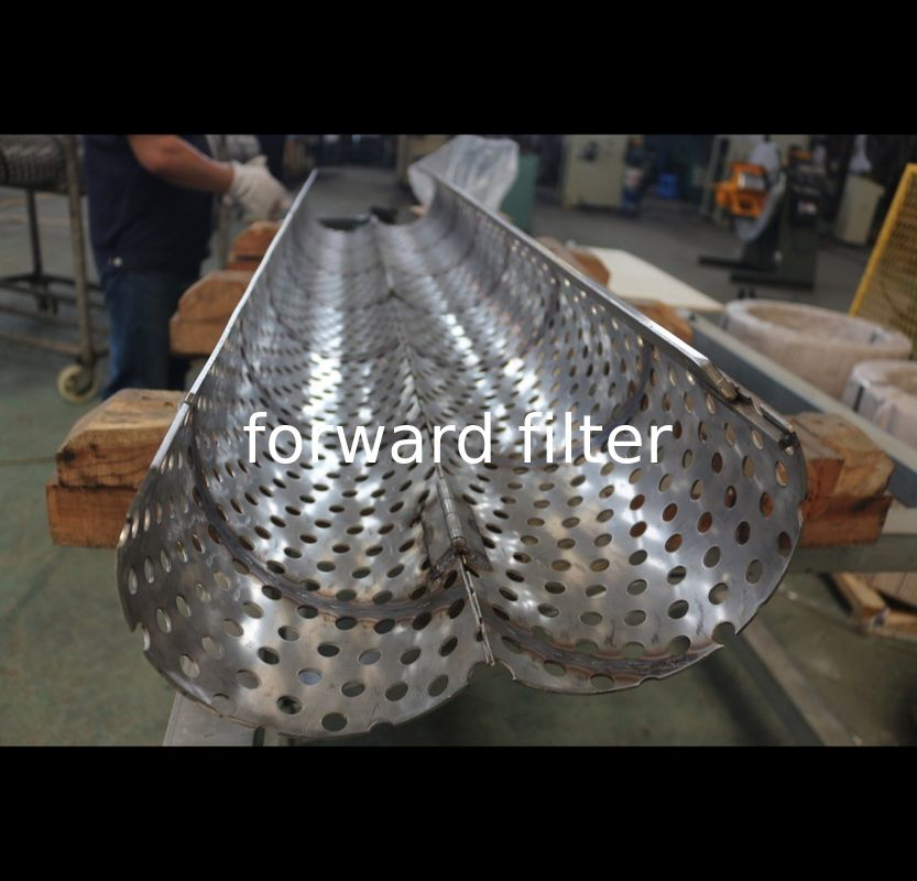 Perforated Muffler Exhaust Pipe Panels Filters Strainers For Insulation