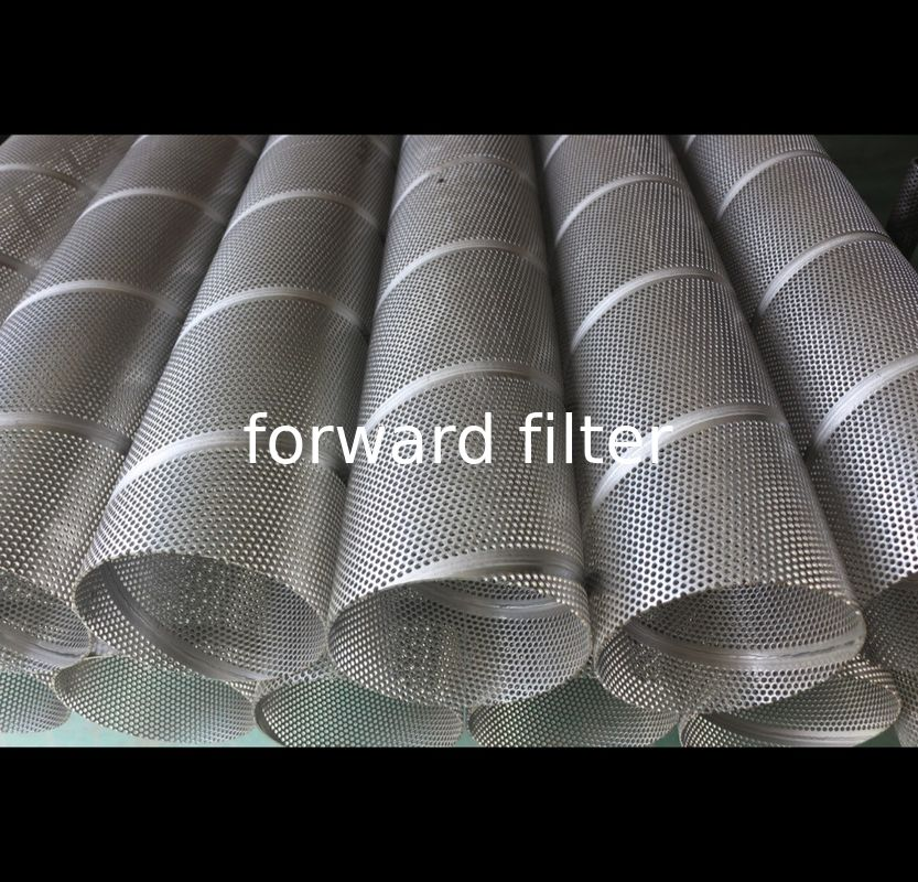 High Strength Petroleum Refining Filtration Tube 304 316 Stainless Steel